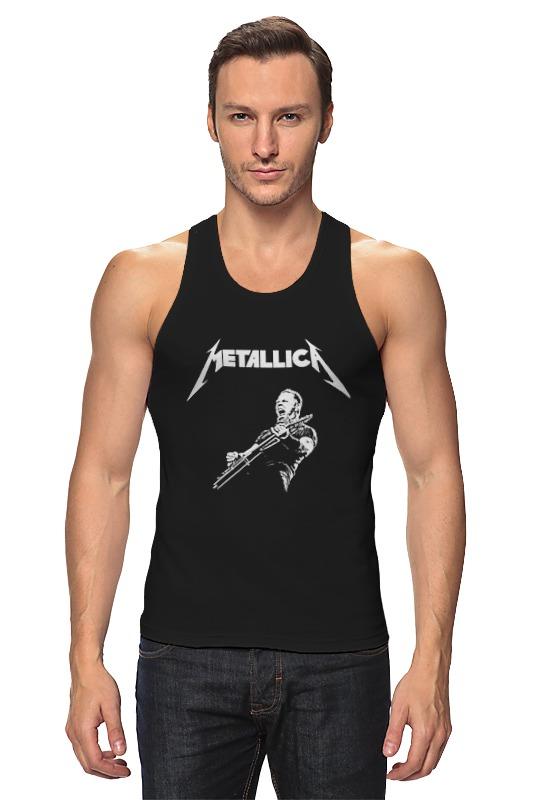 Майка классическая Printio Metallica майка борцовка print bar metallica hardwired