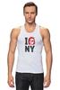 "Майка классическая ""Escape from New York / Побег из Нью Йорка"" - new york, ny, нью йорк, курт рассел, побег из нью йорка"