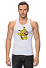 "Майка (Мужская) ""Mario x Pokemon"" - пародия, покемон, пикачу, марио, pikachu"