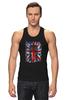 "Майка (Мужская) ""10th флаг UK (Доктор Кто)"" - doctor who, bbc, флаг, uk, доктор кто"