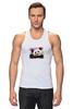"Майка (Мужская) ""Панда с леденцом"" - арт, панда, panda, lollipop, artberry"