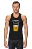 "Майка (Мужская) ""Загрузка Пива на 69%"" - пиво, стакан, loading, beer, загрузка"