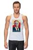 "Майка классическая ""Go Hard Like Vladimir Putin"" - путин, президент, putin, go hard"