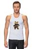 "Майка (Мужская) ""Ted PSS"" - арт, bear, медведь, ted, в любви не без медведя"