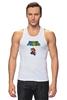 "Майка (Мужская) ""Super Mario"" - mario, dendy, марио, mario bros, 8bit"