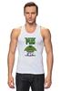 """Майка классическая """"Невероятный Мопс"""" - pug, hulk, мопс, халк, невероятный мопс"""