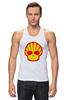 "Майка (Мужская) ""Shell Skull"" - skull, череп, прикол, супер, стиль, логотип, shell"