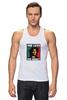 """Майка (Мужская) """"Bob Marley """" - любовь, регги, боб марли, reggae, ska, jamaica"""