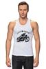 """Майка (Мужская) """"Caferacer"""" - мотоцикл, moto, vintage, caferacer, dotheton"""