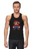 """Майка (Мужская) """"Таблица Супер Марио"""" - игры, nintendo, химия, 8 бит, super mario, супер марио, таблица менделеева"""