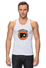 "Майка (Мужская) ""Philadelphia Flyers"" - спорт, хоккей, nhl, нхл, филадельфия флайерз"