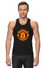 """Майка классическая """"Manchester United"""" - football, uk, манчестер юнайтед, футбольный клуб"""