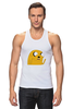 "Майка (Мужская) ""Adventure Time: Jake Dog"" - adventure time, время приключений, jake"