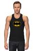 """Майка (Мужская) """"Batman (8-bit)"""" - batman, бэтмен, пиксели, 8-бит, 8-bit"""