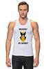 "Майка классическая ""Wolverine or Batmen"" - batman, росомаха, бэтмен, wolverine"