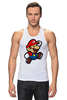 "Майка классическая ""Марио (Mario)"" - nintendo, 90's, марио, mario bros"