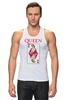 """Майка (Мужская) """"Freddie Mercury - Queen"""" - queen, фредди меркьюри, freddie mercury, куин, rock music"""