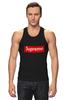 "Майка (Мужская) ""Supreme "" - арт, supreme, nyc, clothing"