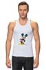 """Майка (Мужская) """"Mickey"""" - микки маус, микки, mickey mouse"""