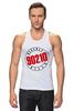 "Майка классическая ""90210"" - 90210, беверли-хиллз 90210, beverly hills"
