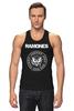 "Майка классическая ""Ramones "" - punk, панк, ramones, рамонес, joey ramone"