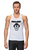 "Майка классическая ""Skull WOT "" - skull, череп, games, игры, игра, game, логотип, world of tanks, танки, wot"