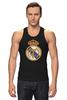 """Майка классическая """"Реал Мадрид"""" - футбол, real madrid, реал мадрид, роналду, футбольный клуб"""
