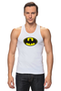"""Майка (Мужская) """"Бэтман"""" - batman, супергерой, бэтман"""