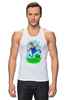 """Майка (Мужская) """"Марио (Mario)"""" - nintendo, mario, марио, грибочек"""