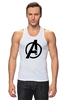 """Майка (Мужская) """"Avengers"""" - marvel, мстители, avengers"""