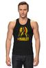 "Майка (Мужская) ""Боб Марлей (Bob Marley)"" - регги, боб марли, bob marley, reggae, ska, jamaica"