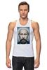 """Майка (Мужская) """"Путинизм"""" - царь, king, путин, борода, putin, beard, путинизм"""