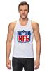 """Майка (Мужская) """"NFL"""" - авторские майки, американский футбол, american football, нфл"""
