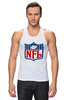 "Майка классическая ""NFL"" - авторские майки, американский футбол, american football, нфл"