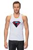 """Майка классическая """"superman"""" - superman, супергерои"""