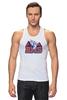 "Майка (Мужская) ""Реальные Парни (Blue Mountain State) BMS"" - сериал, bms, blue mountain state, американский футбол, реальные парни, штат голубая гора"