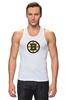 "Майка классическая ""Boston Bruins"" - медведь, хоккей, nhl, бостон, boston bruins"