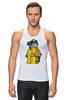 "Майка классическая ""Breaking Bad x Lego"" - white, во все тяжкие, meth, гайзенберг, лего"
