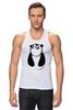 "Майка классическая ""Панда (Panda)"" - панда, panda"