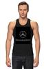 """Майка классическая """"Mercedes benz"""" - мерседес, автомобили, mercedes, amg"""