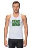 "Майка (Мужская) ""Ходячие Мертвецы (The Walking Dead)"" - страх, fear, ходячие мертвецы, walking dead"