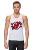 """Майка (Мужская) """"Нью-Джерси Девилс"""" - хоккей, nhl, нхл, нью-джерси девилс, new jersey devils"""