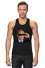 """Майка (Мужская) """"Pixel Putin"""" - король, pixel, путин, putin, пиксели"""