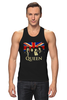 "Майка классическая ""Queen group"" - queen, фредди меркьюри, freddie mercury, куин, rock music"