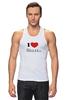 "Майка (Мужская) ""i love House"" - сердце, любовь, сердечко, house, хаус, доктор, креативные надписи на футболках, i love"