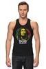 "Майка (Мужская) ""Bob Marley"" - регги, боб марли, bob marley, reggae, ска"