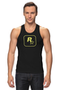 "Майка классическая ""Rockstar Staff T-Shirt"" - rockstar, rockstar games"
