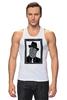 """Майка классическая """"DeadBroke"""" - арт, man, стиль, рисунок, hat, tie, алина макарова"""