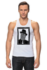 "Майка (Мужская) ""DeadBroke"" - арт, man, стиль, рисунок, hat, tie, алина макарова"