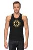 "Майка классическая ""Boston Bruins"" - хоккей, nhl, нхл, boston bruins, бостон брюинз"